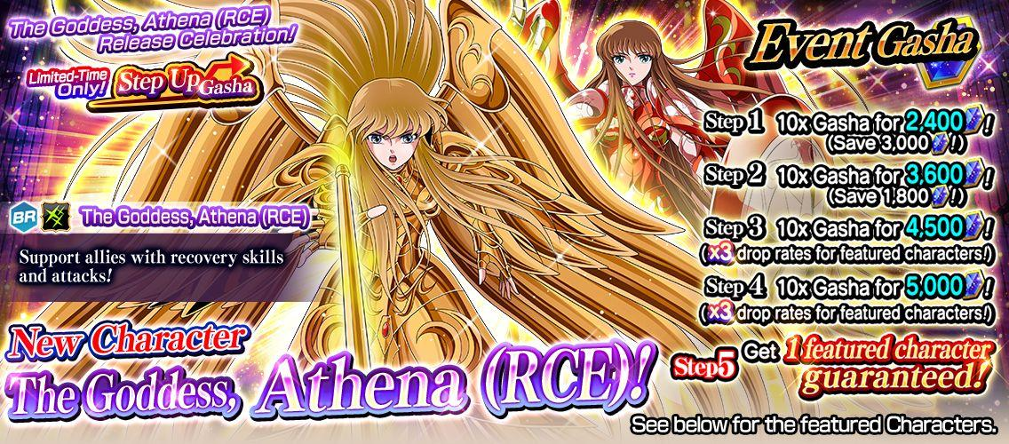The Goddess, Athena (RCE) Release Celebration!] Limited-Time Only